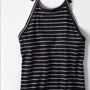 American Eagle outfitters striped ribbed halter